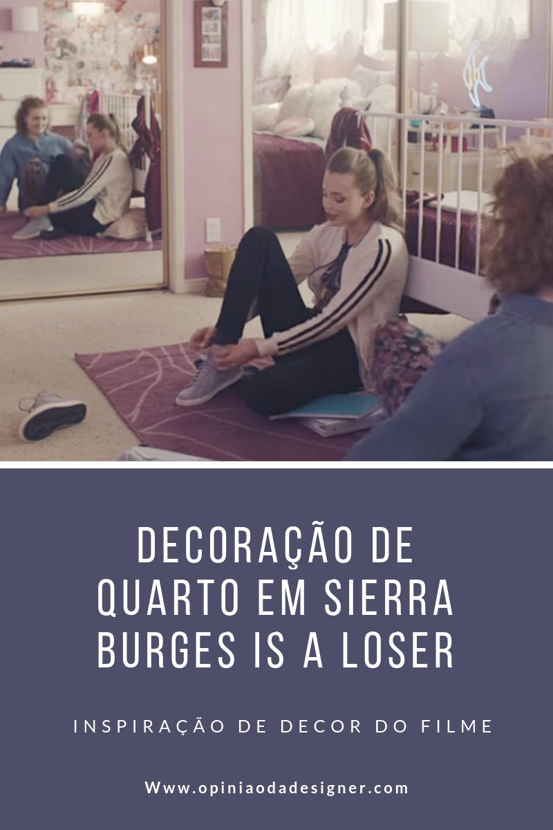 decoração de quarto filme sierra burgess is a loser