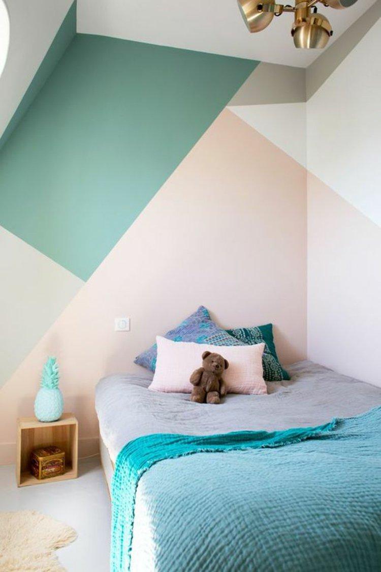 parede-geometrica-para-quarto